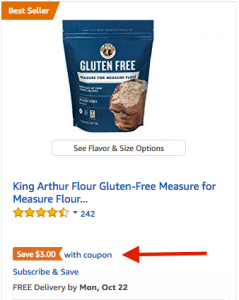 Example 2 of Amazon Digital Coupon