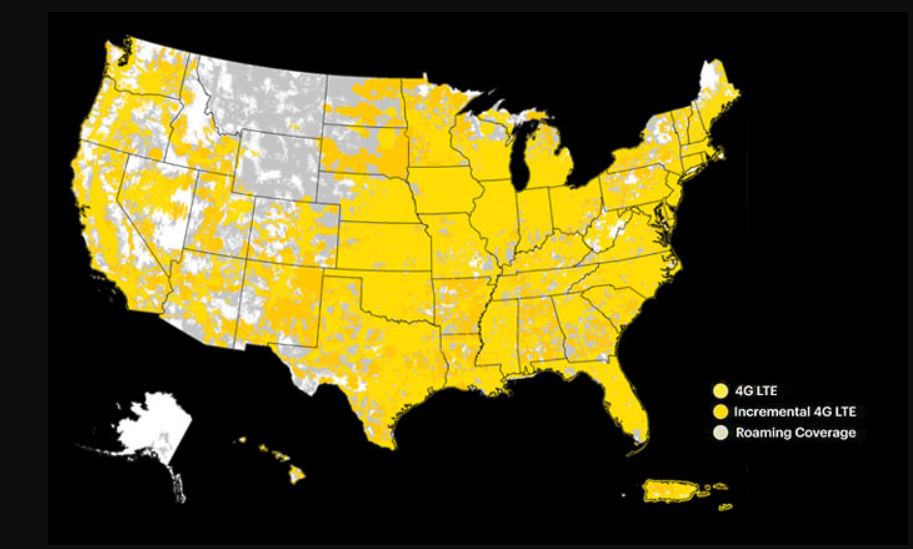 Sprint Wireless Coverage Map