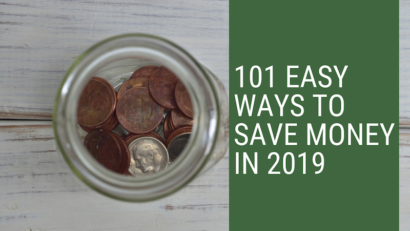 101 Ways To Save Money